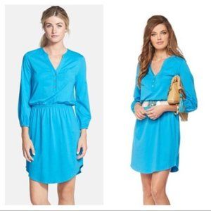Lilly Pulitzer Beckett Shirt Dress in Ariel Blue